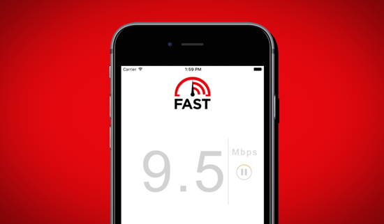Ứng dụng FAST Speed Test