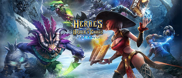 Game Heroes of Order & Chaos với giao diện đẹp mắt