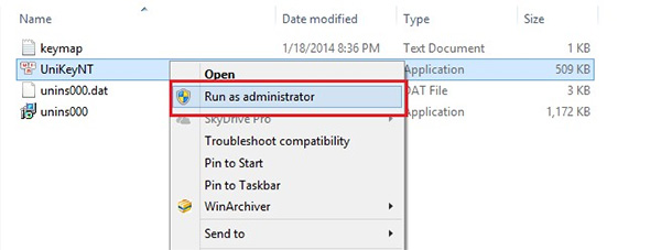 Trong thẻ Compatibility chọn Run this program as an Administrator