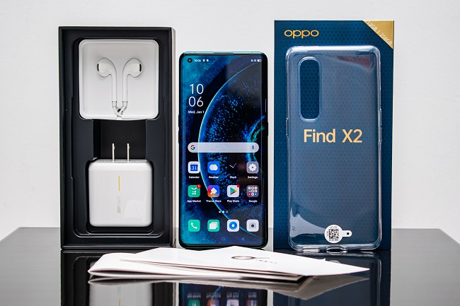 Mở hộp OPPO Find X2