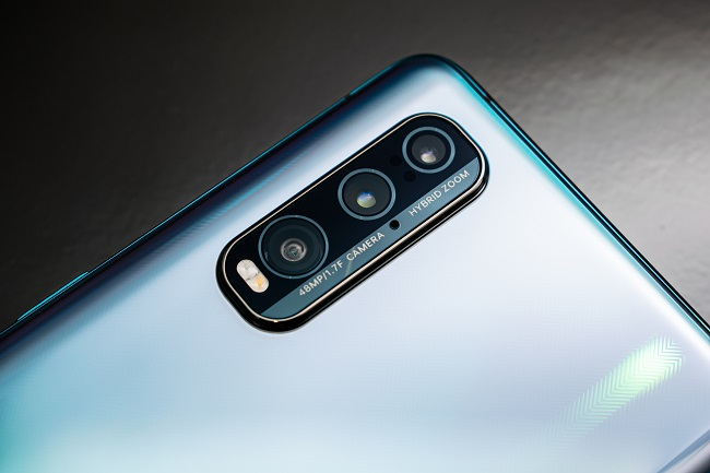 Thiết kế cụm camera của OPPO Find X2