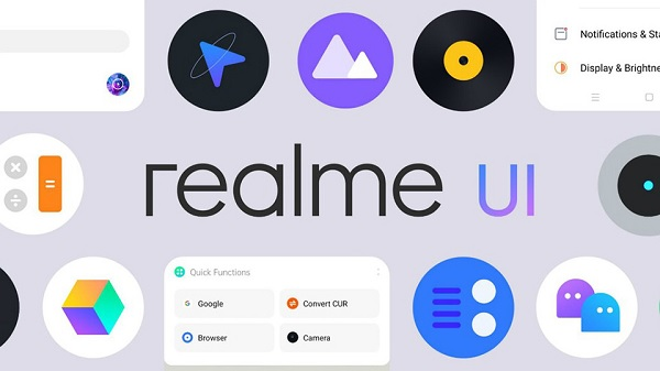 Giao diện Realme UI kết hợp Android 10