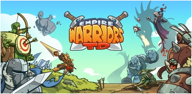 Game chiến thuật trên Android: Empire Warriors TD