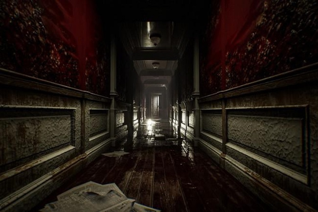 Một cảnh trong game Layers Of Fear