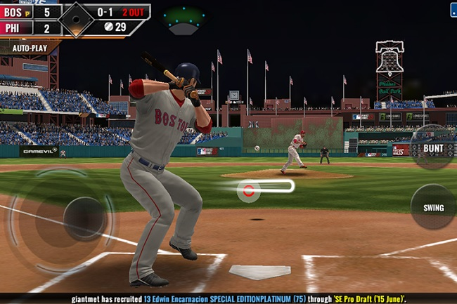 Game MLB Perfect Inning 15