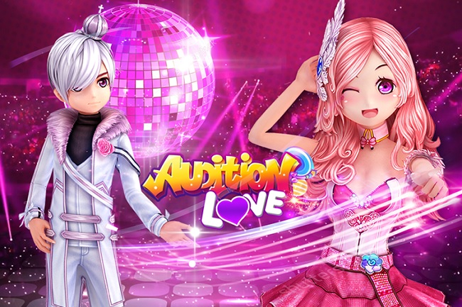 Giao diện game Audition Love