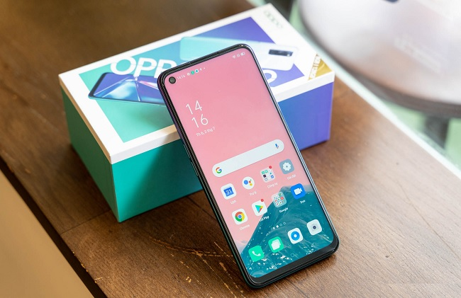 OPPO A92 cài sẵn Android 10, giao diện ColorOS 7