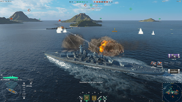 Game chiến hạm World of Warships