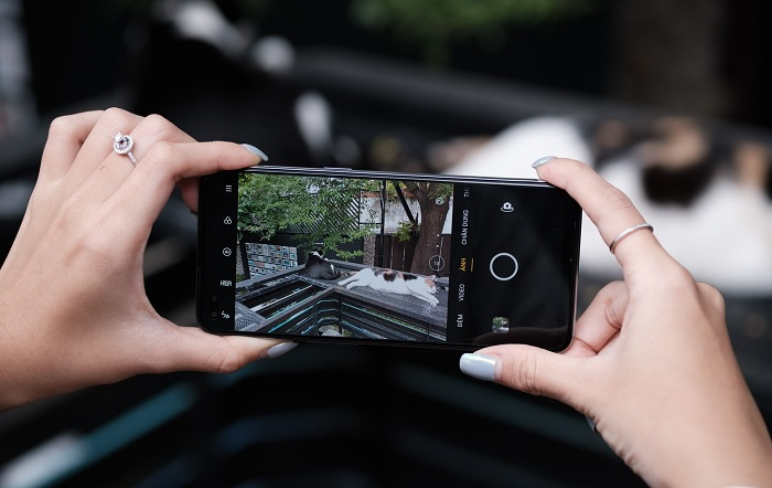 Giao diện camera OPPO A93