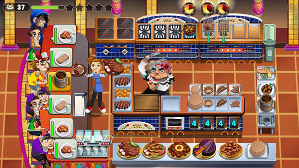 Game nấu ăn Cooking Dash