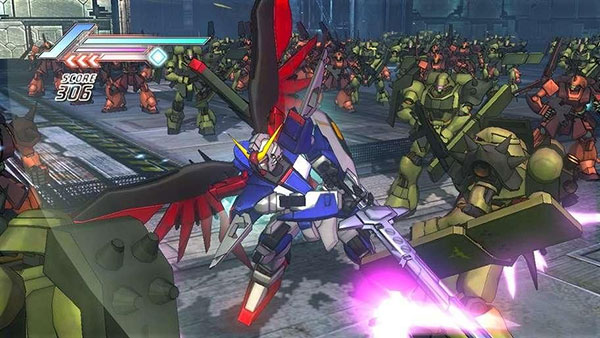 Game Dynasty Warrior: Gundam