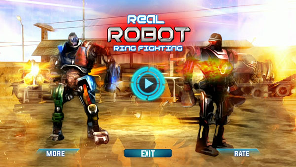 Game Real Robot Ring Fighting