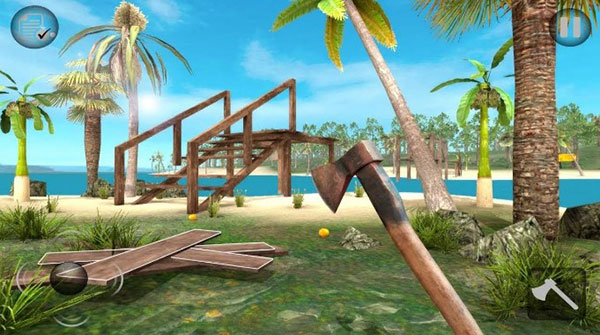 Game sinh tồn xây dựng: Raft Survival Forest