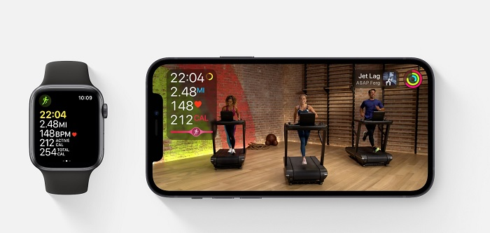 iOS 14.3 hỗ trợ ứng dụng Apple Fitness+