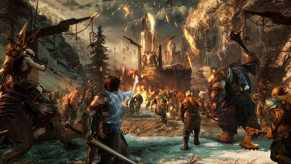 Game nhập vai hay cho PC Middle Earth series