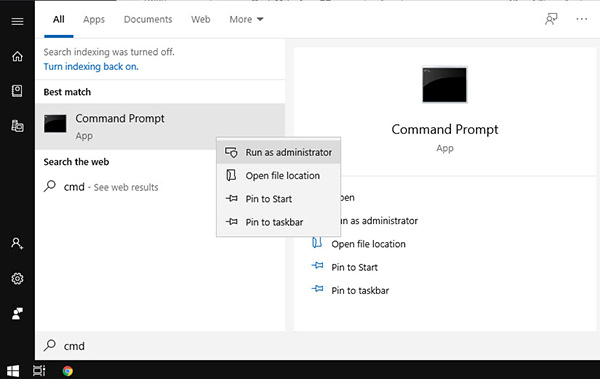Fix lỗi this copy of windows is not genuine bằng Command prompt