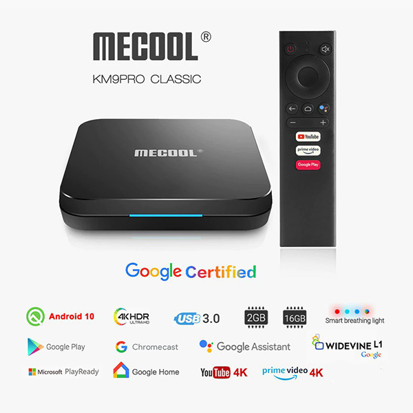 Android TV Box Mecool KM9 Pro Classic